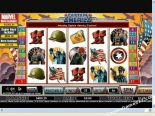 slot machine gratis Captain America CryptoLogic