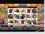 slot machine gratis Captain America CryptoLogic